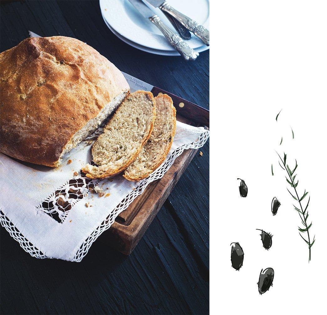 olive bread | gnom-gnom.com
