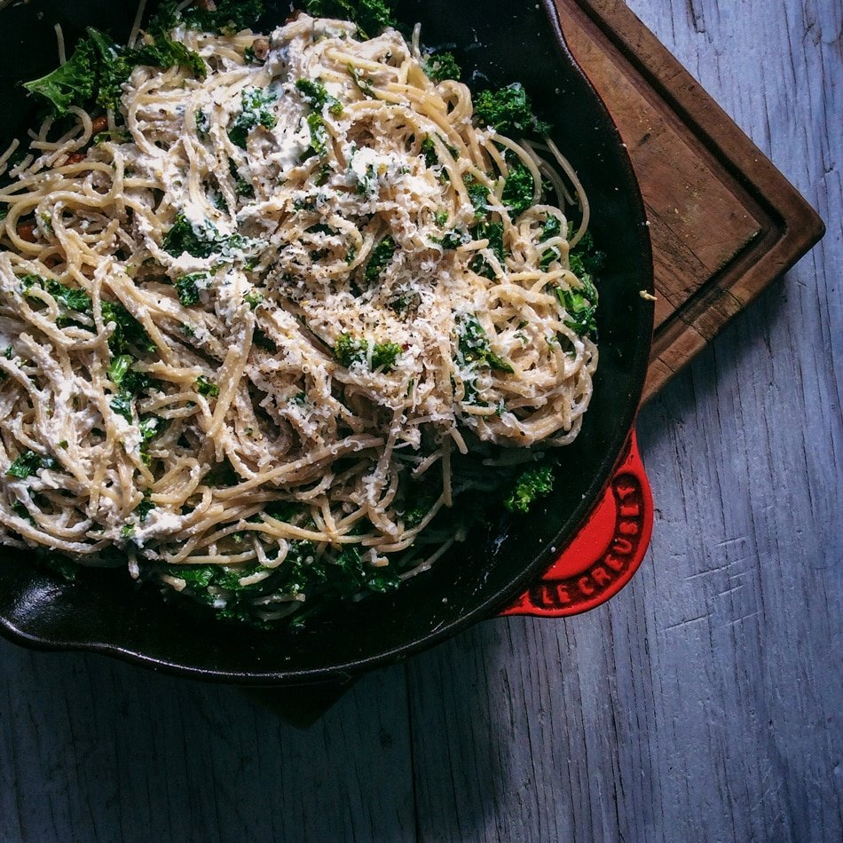 kale-ricotta-pasta-recipe-Gnom-Gnom