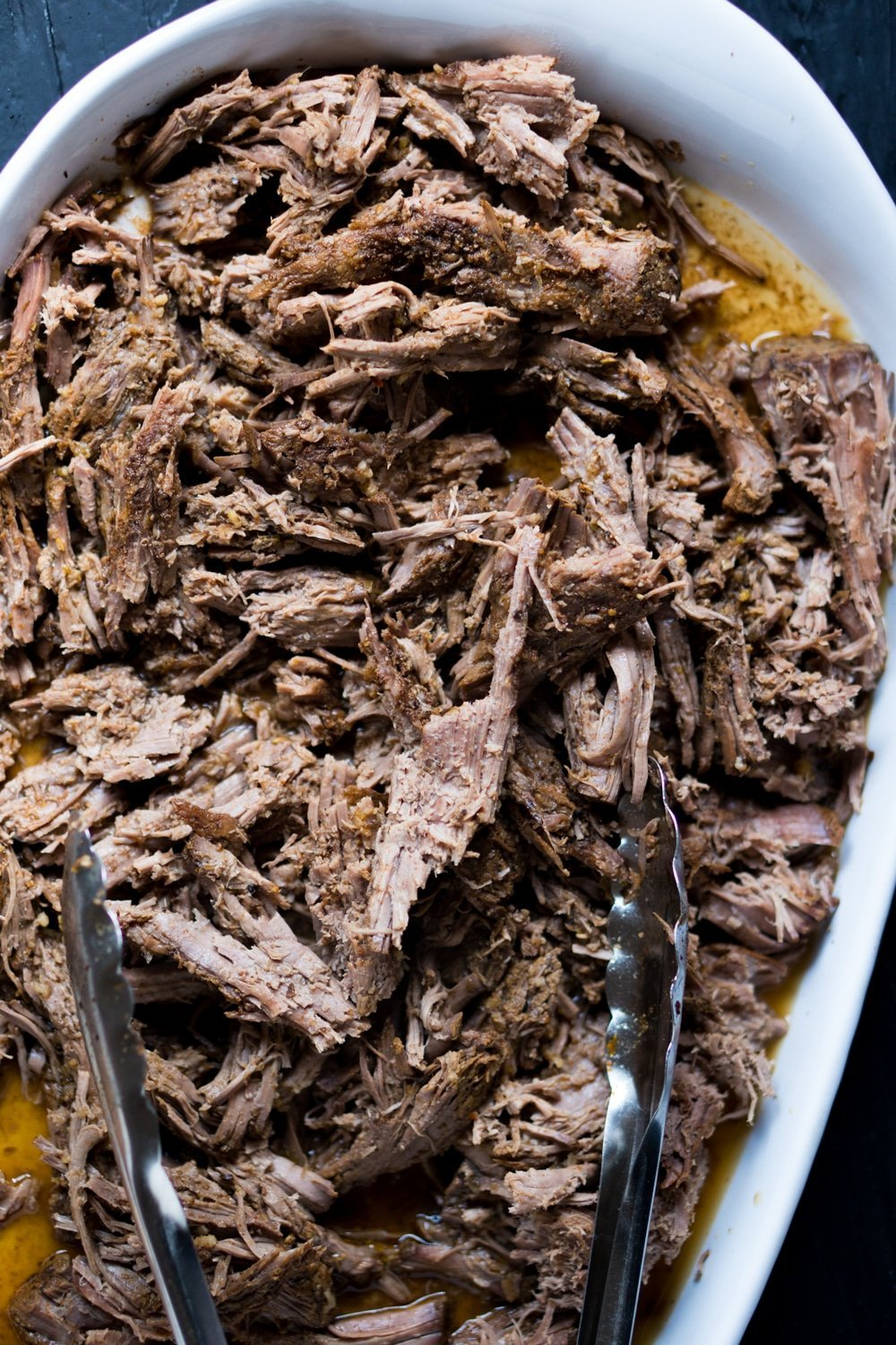 Slow Cooker Pulled Skirt Steak ? Gluten Free & Ketogenic