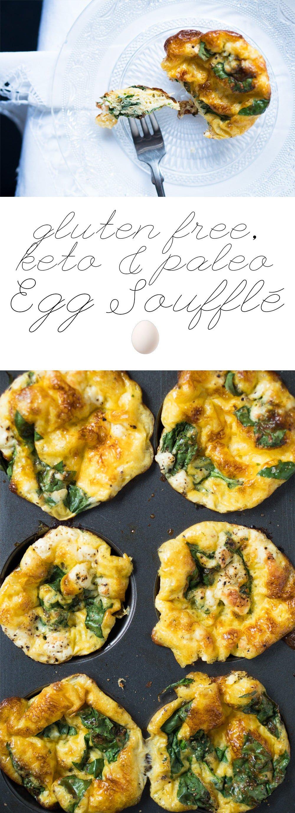 Breakfast Egg Soufflé Cups 🥚 gluten free, keto & paleo
