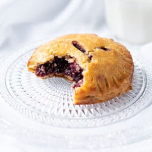 Flaky gluten free & keto hand pies