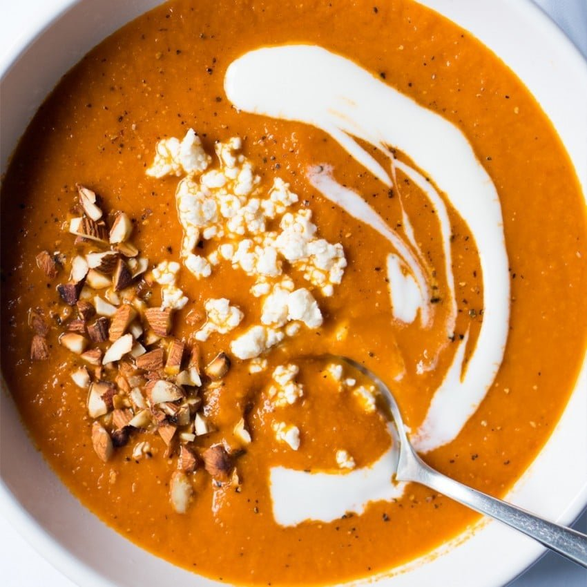 Suuuper Warming Tomato Soup ? gluten free & paleo