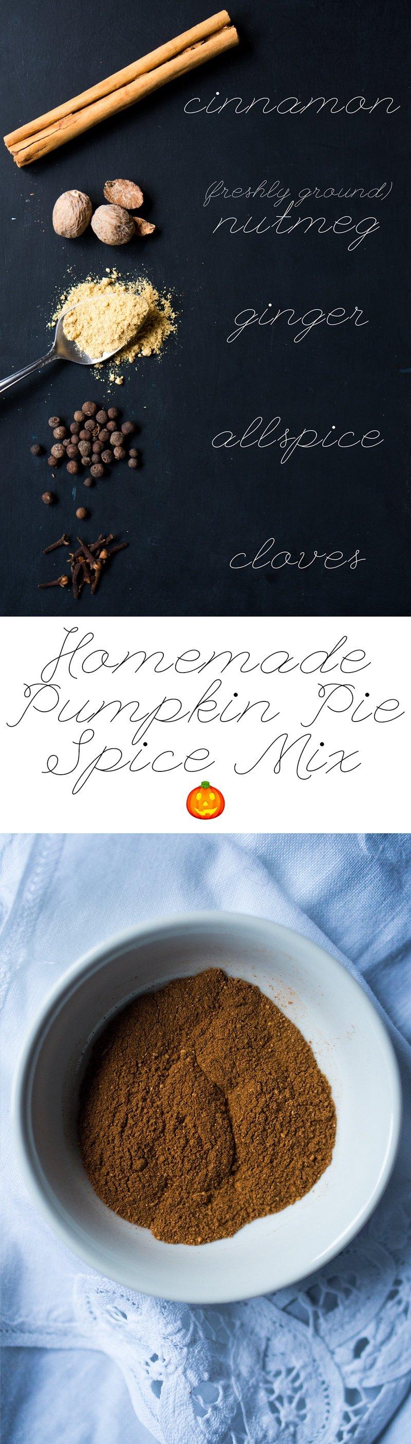 Homemade Pumpkin Pie Spice Mix 🎃