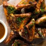 Keto Roasted BBQ Chicken Wings ? From Scratch