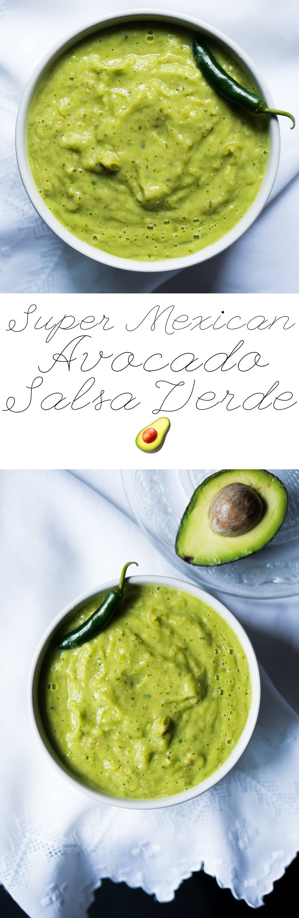Suuuper Mexican Avocado Salsa Verde ? Gluten Free, Keto & Vegan