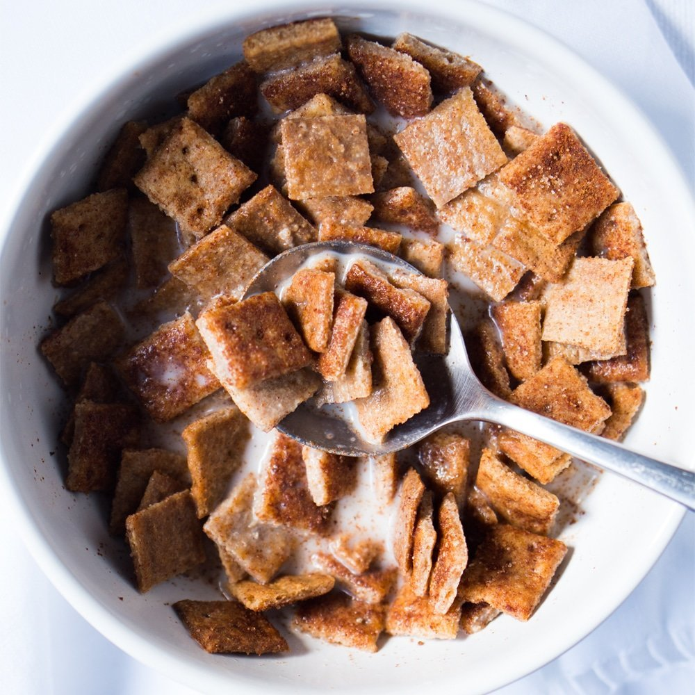 Gluten Free & Keto Cinnamon Toast Crunch Cereal 🥛 Now