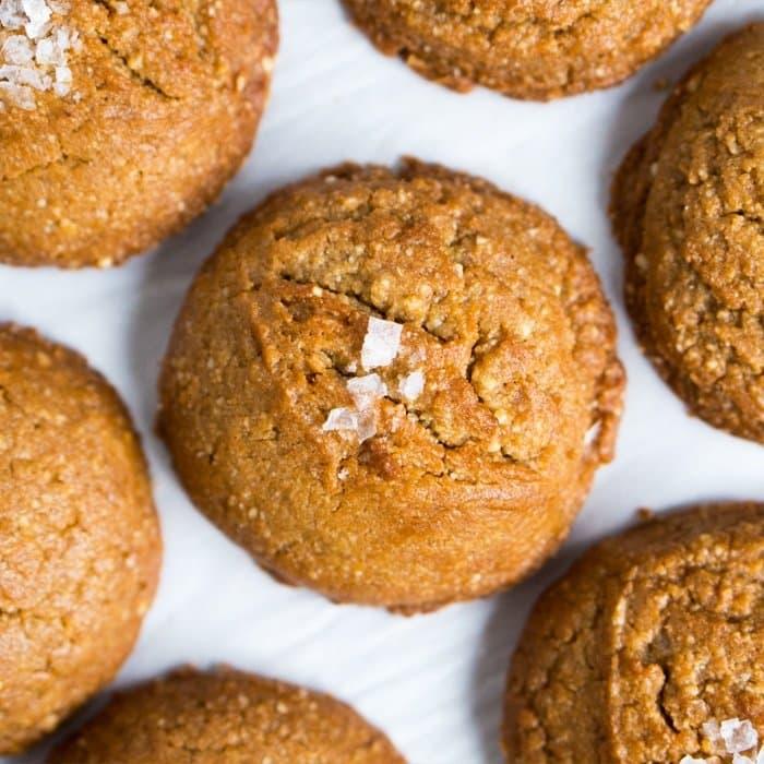 Gluten Free & Keto Peanut Butter Cookies 🥜 #ketopeanutbutter #ketocookies #lowcarbcookies