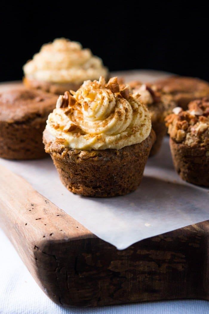 Gluten Free & Keto Pumpkin Spice Latte Muffins