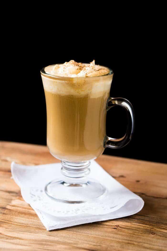 Keto Bulletproof Eggnog Latte 🎄 #bulletproofcoffee #bpc #keto