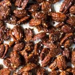 Keto Candied Pecans, Two-Ways! 🍯 #keto #ketopecans #candiedpecans