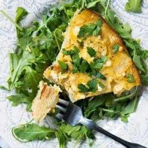 Low Carb & Keto Tortilla Española 🍳🇪🇸 Silky Smooth! #keto #ketobreakfast