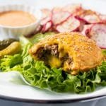 Gluten Free & Keto Cheeseburger Pockets