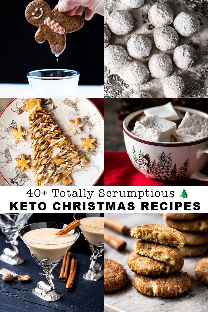 40+ Scrumptious Gluten Free & Keto Christmas Recipes