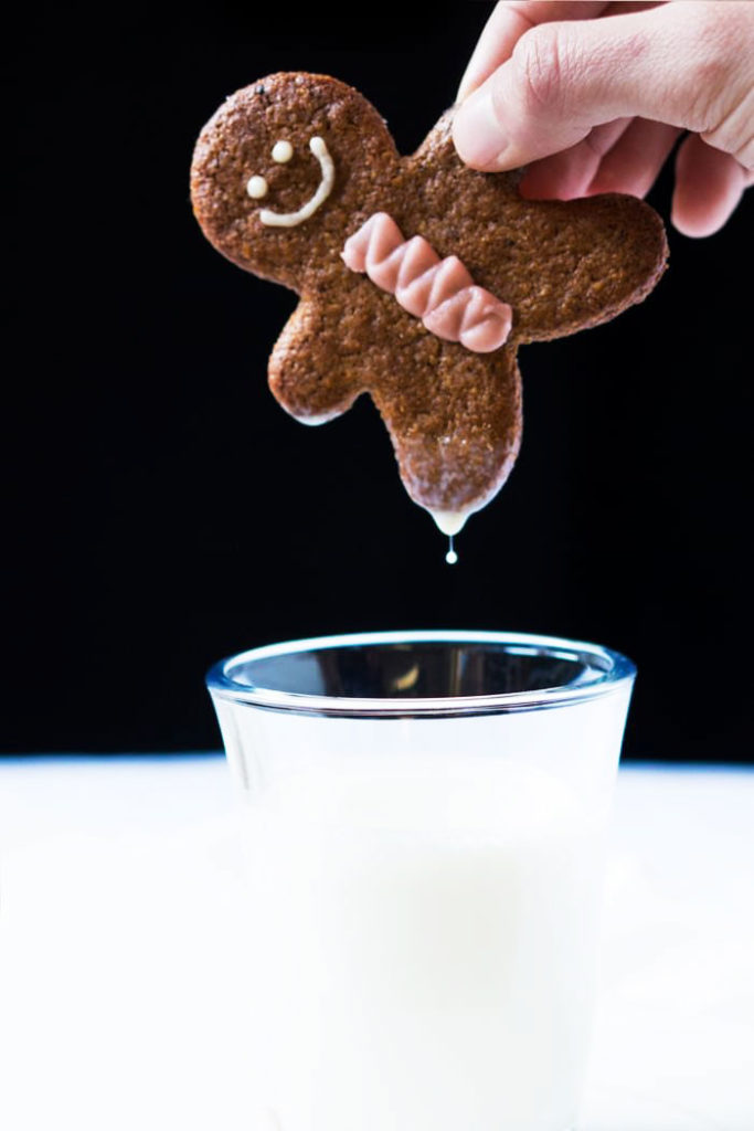 Ultra Crisp Gingerbread Cookies