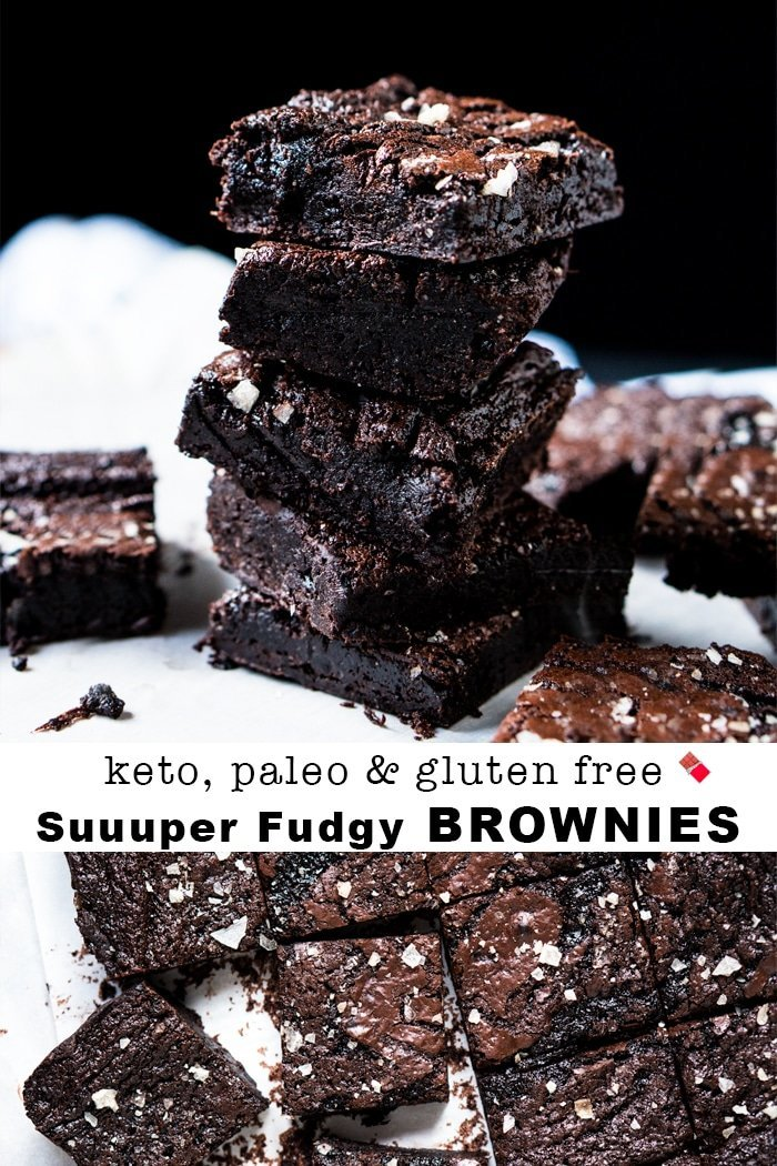 Suuuper Fudgy Paleo Amp Keto Brownies Just 1g Net Carb