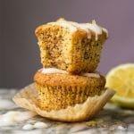 Gluten Free, Paleo & Keto Lemon Poppy Seed Muffins