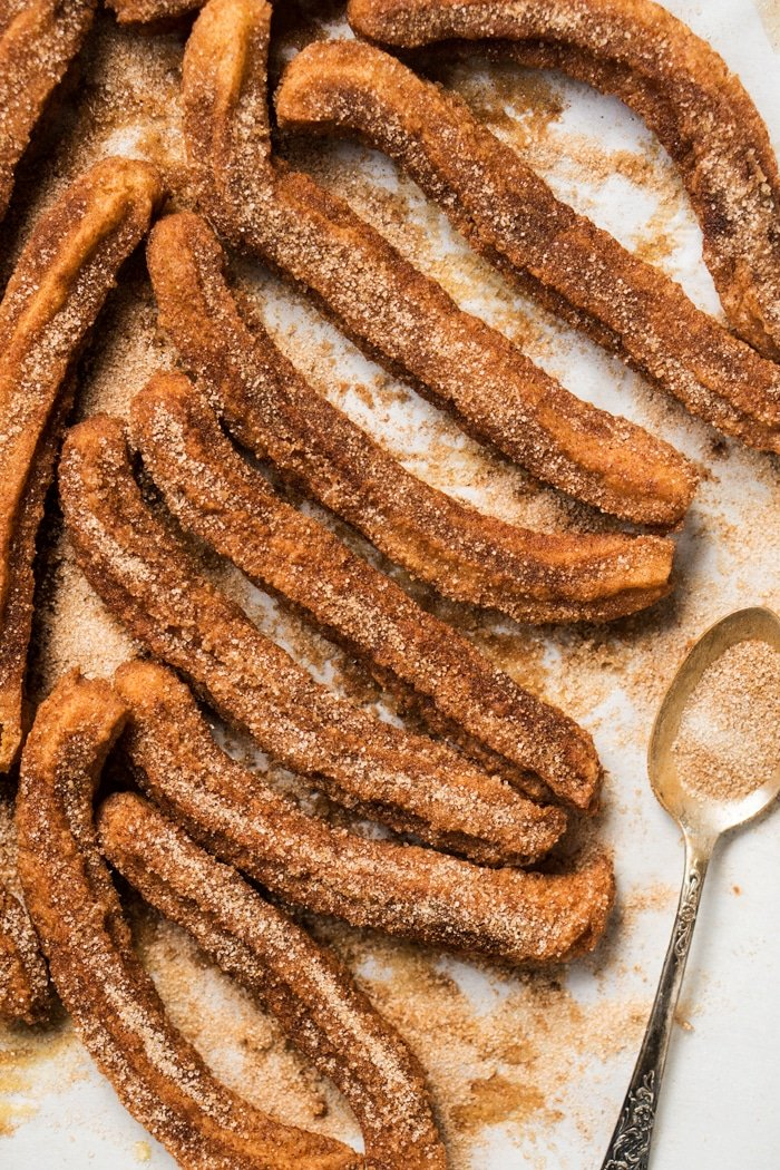 Gluten Free & Keto Churros With Cinnamon Sugar