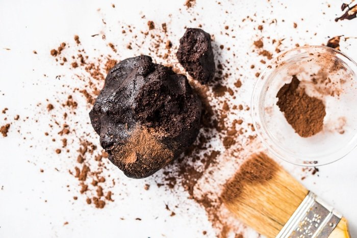 Keto chocolate cookie dough