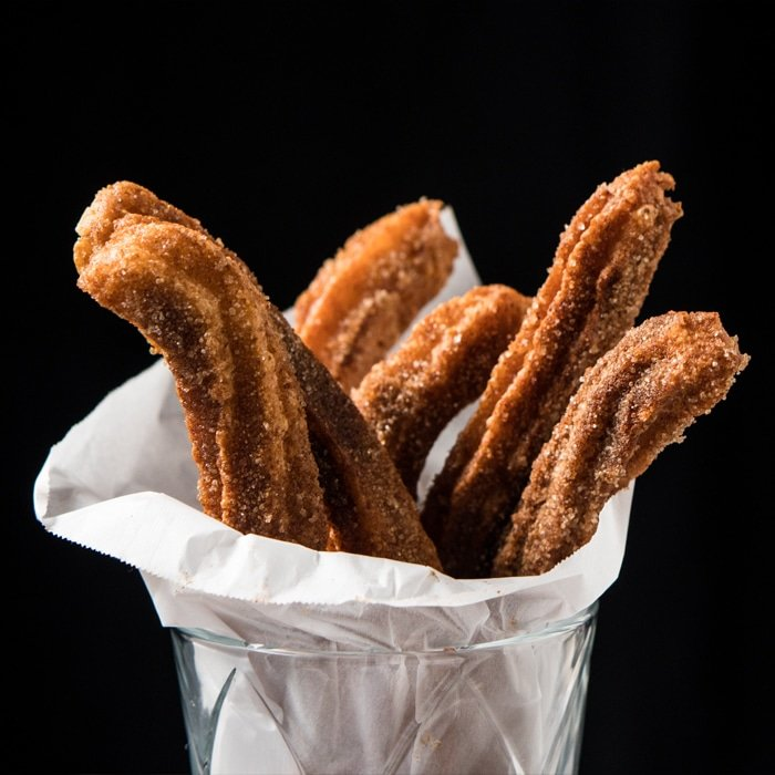 Grain Free Gluten Free Keto Churros Easy Peasy