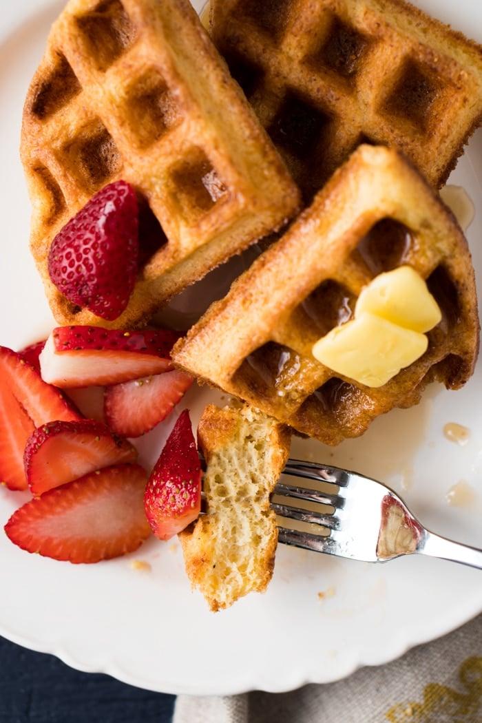 Eating Gluten Free, Dairy Free & Keto Waffles