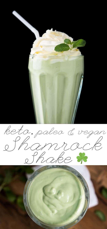 Paleo Vegan Amp Keto Shamrock Shake ☘ Healthified