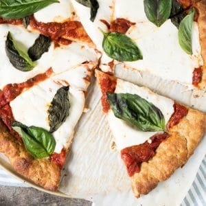 Gluten Free, Dairy Free, Paleo & Keto Pizza Crust 🍕 #keto #lowcarb #paleo #glutenfree #pizza #healthyrecipes