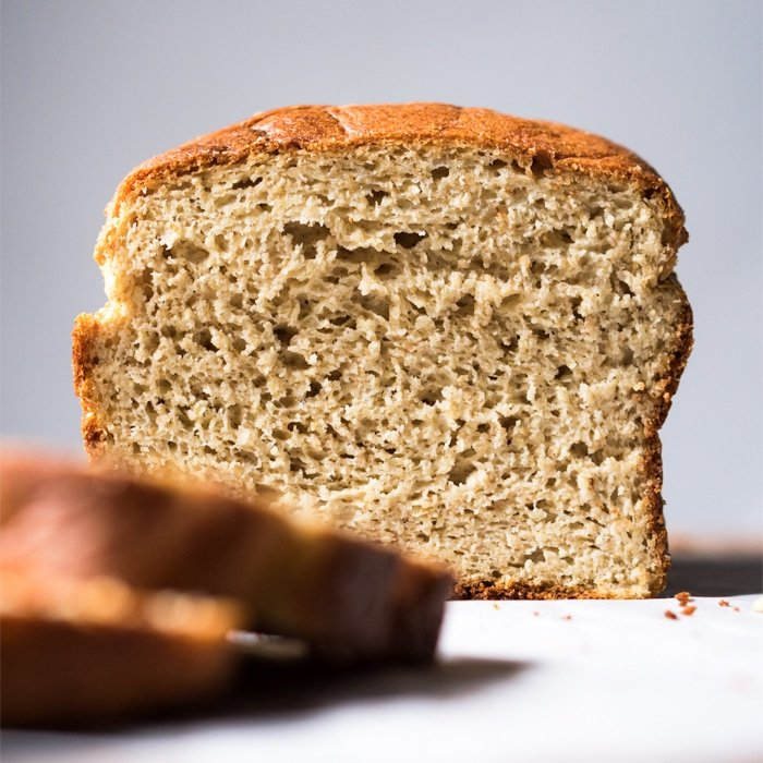 (Soft 'N Fluffy!) Sandwich Bread With Yeast 🍞 gluten free, keto & paleo