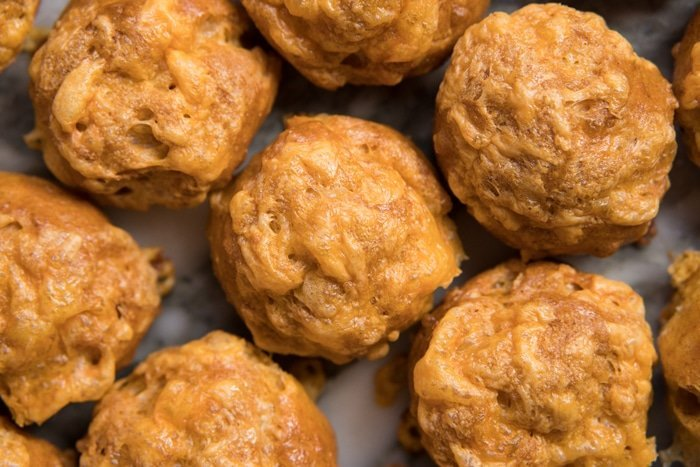 Gluten Free, Low Carb & Keto Cheese Puffs (i.e. Gougères) 🧀 #keto #lowcarb #glutenfree #healthyrecipes #ketodiet
