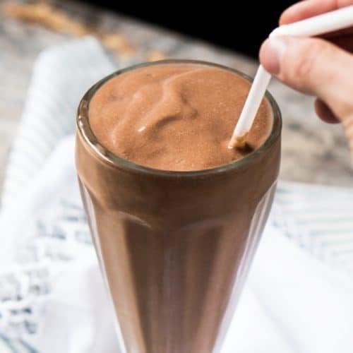 Instant Paleo Keto Chocolate Milkshake Gnom Gnom