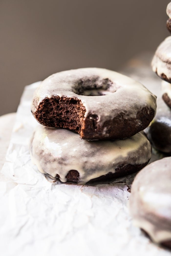 Piled & Bitten Keto Chocolate Donuts