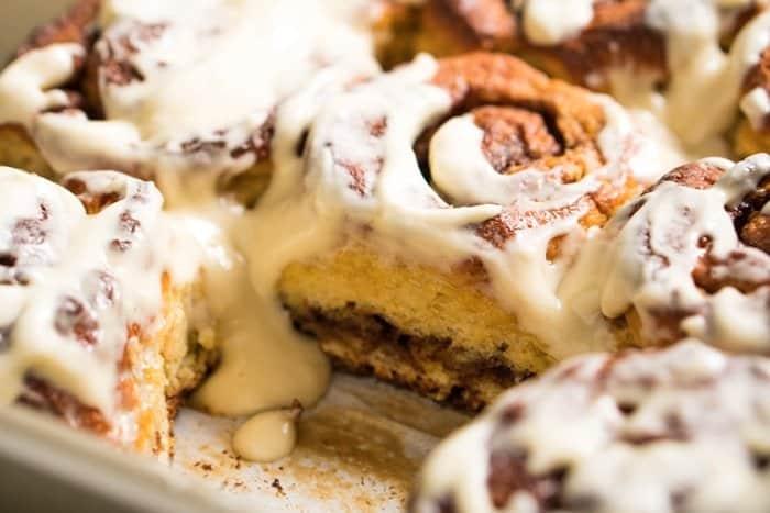 Properly Fluffy 'N Gooey Cinnamon Rolls gluten free, keto & paleo