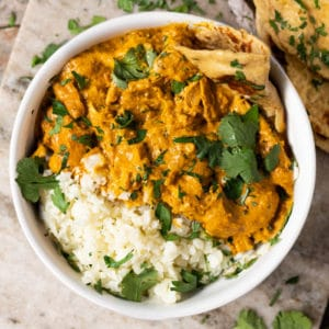 Paleo, Low Carb & Keto Butter Chicken
