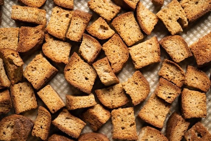 Extra crisp grain free & keto croutons