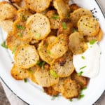 Low carb & eto faux-tatoes with sour cream