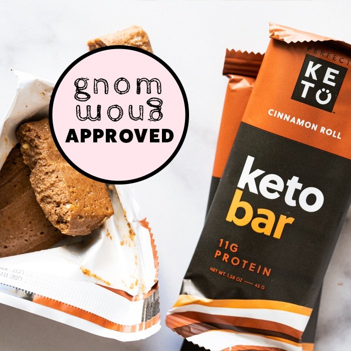 Perfect Keto cinnamon bars