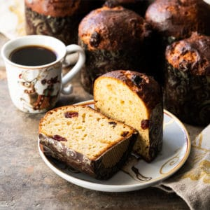 Gluten Free & Keto Panettone (Italian Christmas Bread!)