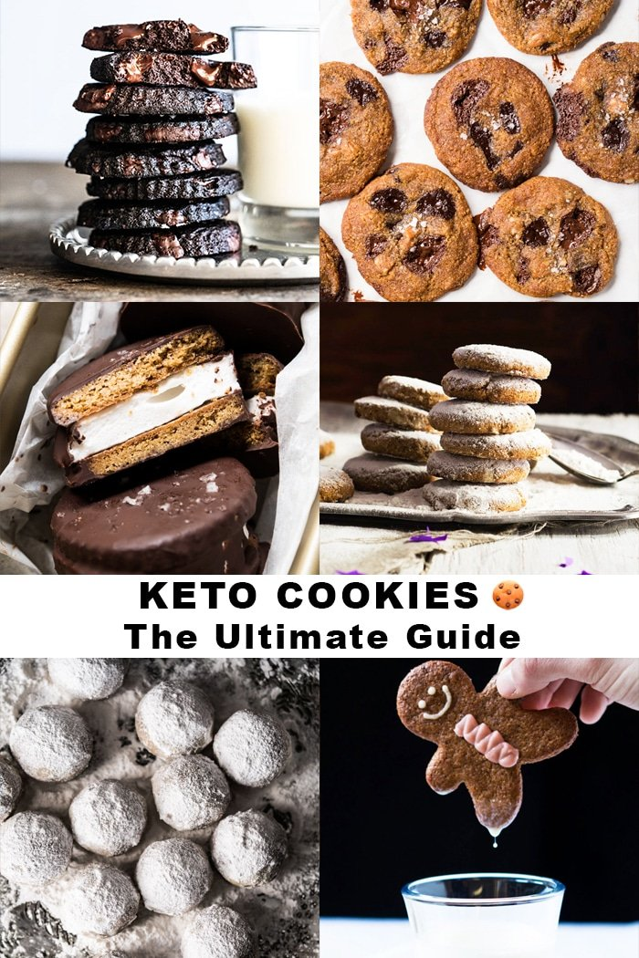 (Soft, Crisp Or Chewy!) Keto Cookies, The Ultimate Guide #keto #lowcarb #glutenfree #cookies