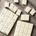 Homemade Sugar Free & Keto White Chocolate Bars