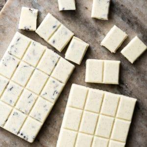 Homemade Sugar Free & Keto White Chocolate Bars